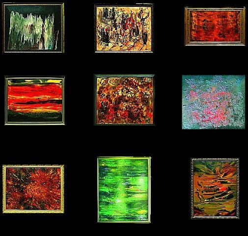Cuadros abstractos cuadros modernos for Cuadros con relieve modernos